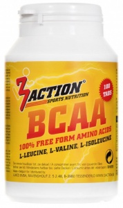 3Action Bcaa 100 tabletten