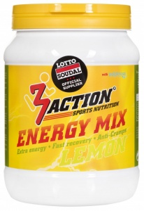 3Action energiedrank Lemon 500 gram