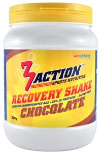 3Action Recovery Shake Chocolade 500 gram