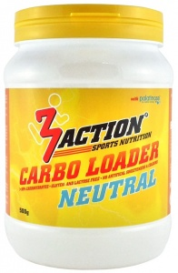 3Action sportdrank Carboloader Neutral 500 gram