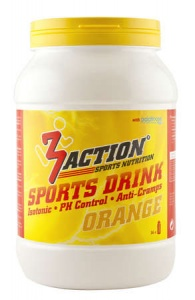 3Action sportdrank Orange 1 kg