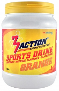 3Action sportdrank Orange 500 gram