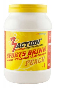 3Action sportdrank Peach 1 kg