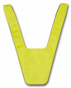 4-Act Safety Collar Junior Yellow One Size