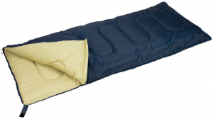 Abbey Camp sleeping bag Abbey Camp 210 x 82 cm polyester navy/sand