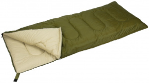 Abbey Camp sac de couchage Basic 210 x 85 cm polyester vert/sable