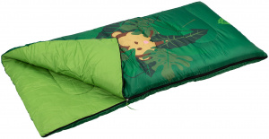 Abbey Camp sleeping bag Jungle junior 140 x 70 cm polyester green