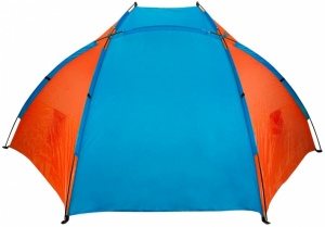 Abbey Strandtent 270 x 120 x 120 cm bleu / orange