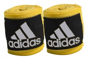adidas bandages 255 cm yellow 2 pieces