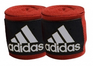 adidas bandages 255 cm red 2 pieces