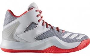 new arrival cd3f5 78e67 adidas basketbalschoenen heren grijs D Rose 773 V