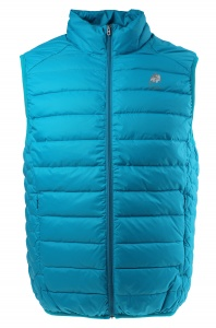 Lamborghini bodywarmer Superleggera Down heren blauw