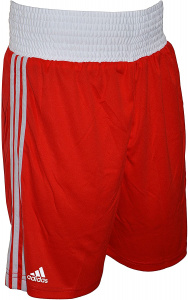 adidas boksbroek Climacool polyester rood/wit
