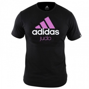 adidas Community T-shirt judo junior zwart