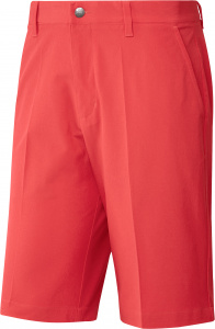 adidas golfbroek kort Ultimate365 heren polyester koraalrood