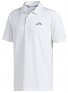 adidas golfpolo Ultimate365 2.0 Solid LC heren wit