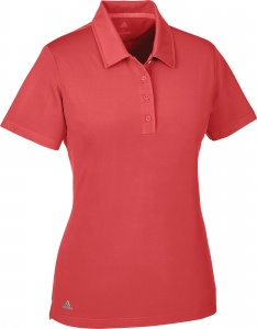 adidas golfpolo Ultimate SS P dames rood