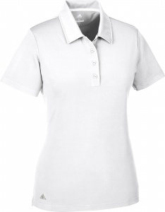 adidas golfpolo Ultimate SS P dames wit