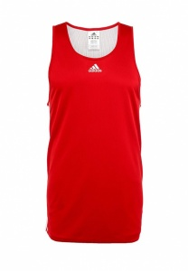 adidas singlet Team Reversible heren rood