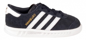 adidas sneakers Hamburg El zwart/wit junior
