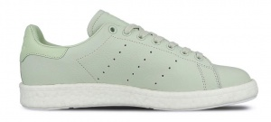 adidas sneakers Stan Smith Boost heren lichtgroen