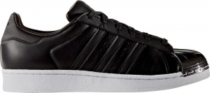 adidas sneakers Superstar Metal Toe dames zwart
