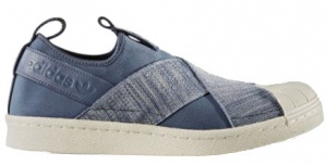 adidas sneakers Superstar Slipon dames blauw