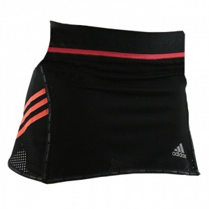 adidas speed line train skort zwart/rood