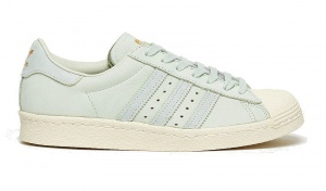 adidas Superstar 80s sneakers dames groen
