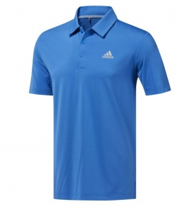 adidas golfpolo Ultimate 365 Solid heren blauw