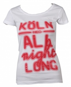 5f7a2d19931021 adidas NEO City Women s White T-Shirt With Red Koln
