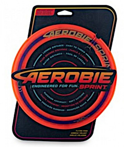 Aerobie frisbee Sprint Ring 25 cm rubber rood