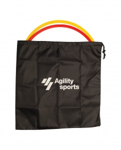 Agility Sports hoop bag 50 cm black