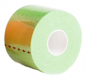 Agility Sports Kinesiology tape green 5 cm x 5 meter