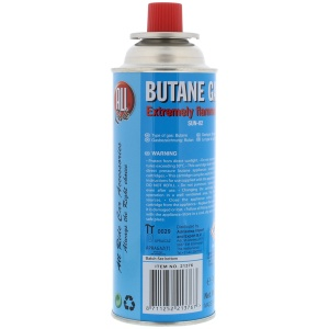 All Ride butane gas bottle 227 grams