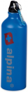 Alpina drinkfles 750 ml aluminium blauw