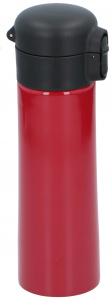 Alpina thermosbeker 300 ml RVS/polypropyleen rood