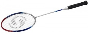 TOM Badmintonracket Smash Hele Steel Aluminium 115 Gram