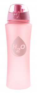 TOM drinkfles H2O kunststof dames 650 ml roze