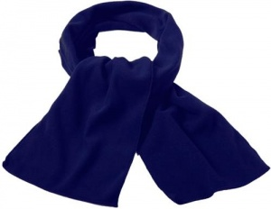 TOM wintersjaal fleece unisex 150 cm navy