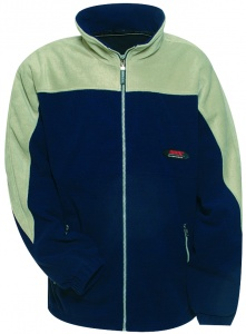 Anuy Fleece jacket Jespen unisex blue