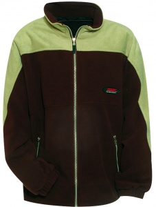 Anuy Fleece jacket Jespen unisex brown
