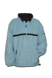 Anuy Fleece jacket Langly unisex blue