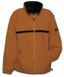 Anuy Fleecejacke Langly unisex orange