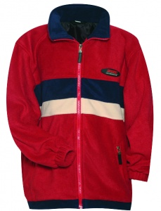 Anuy Fleecejacke Vermont junior rot