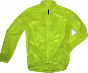 Anuy rain jacket Contest unisex neon yellow