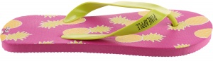 Arditex teenslipper Zaska! Pineapple roze/groen