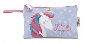 Arditex toiletry bag/pouch Unicorn girls 24 cm PE pink/blue