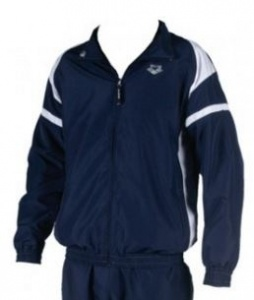 Arena Trainingsjack Tarida Blauw / Wit Heren