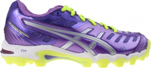 ASICS hockeyschoenen Gel-Hockey Typhoon 2 dames paars